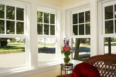 Double Hung Vinyl replacement windows.