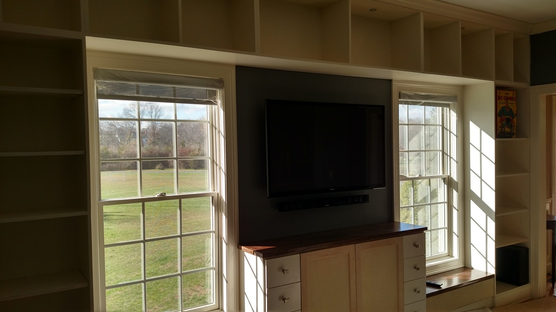 Essex Ct Custom Cabinet Built Ins Heritage Home Improvements